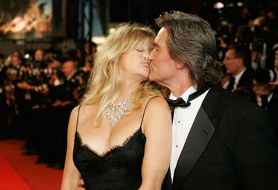 Golden couple, Goldie Hawn & Kurt Russell in Cannes