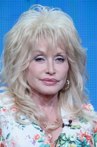 Dolly Parton speaks onstage during NBC's 'Dolly Parton's Coat of Many Colors' panel discussion at the NBCUniversal portion of the 2015 Summer TCA Tour at The Beverly Hilton Hotel on August 13, 2015 in Beverly Hills