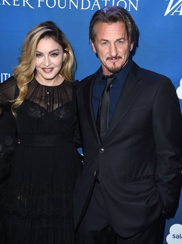 Madonna and Sean Penn arrives at the 5th Annual Sean Penn & Friends HELP HAITI HOME Gala Benefiting J/P Haitian Relief Organization at Montage Hotel on January 9, 2016 in Beverly Hills