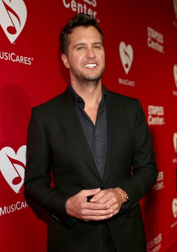 Singer-songwriter Luke Bryan attends the 2016 MusiCares Person of the Year honoring Lionel Richie at the Los Angeles Convention Center on February 13, 2016 in Los Angeles, California.