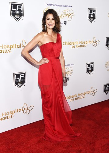 Teri Hatcher arrives at the 2016 Children's Hospital Los Angeles 'Once Upon a Time' Gala at the L.A. Live Event Deck on October 15, 2016 in Los Angeles