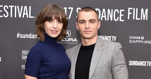 Alison Brie and Dave Franco attend 'The Little Hours' premiere during day 1 of the 2017 Sundance Film Festival at Library Center Theater on January 19, 2017 in Park City, Utah