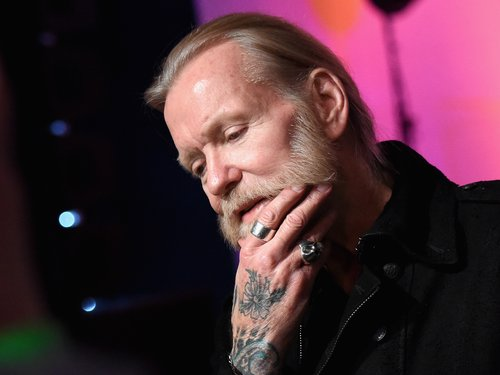 Gregg Allman speaks to the press before the Skyville Live & USA TODAY Presents A Salute to Gregg Allman on December 11, 2015 in Nashville