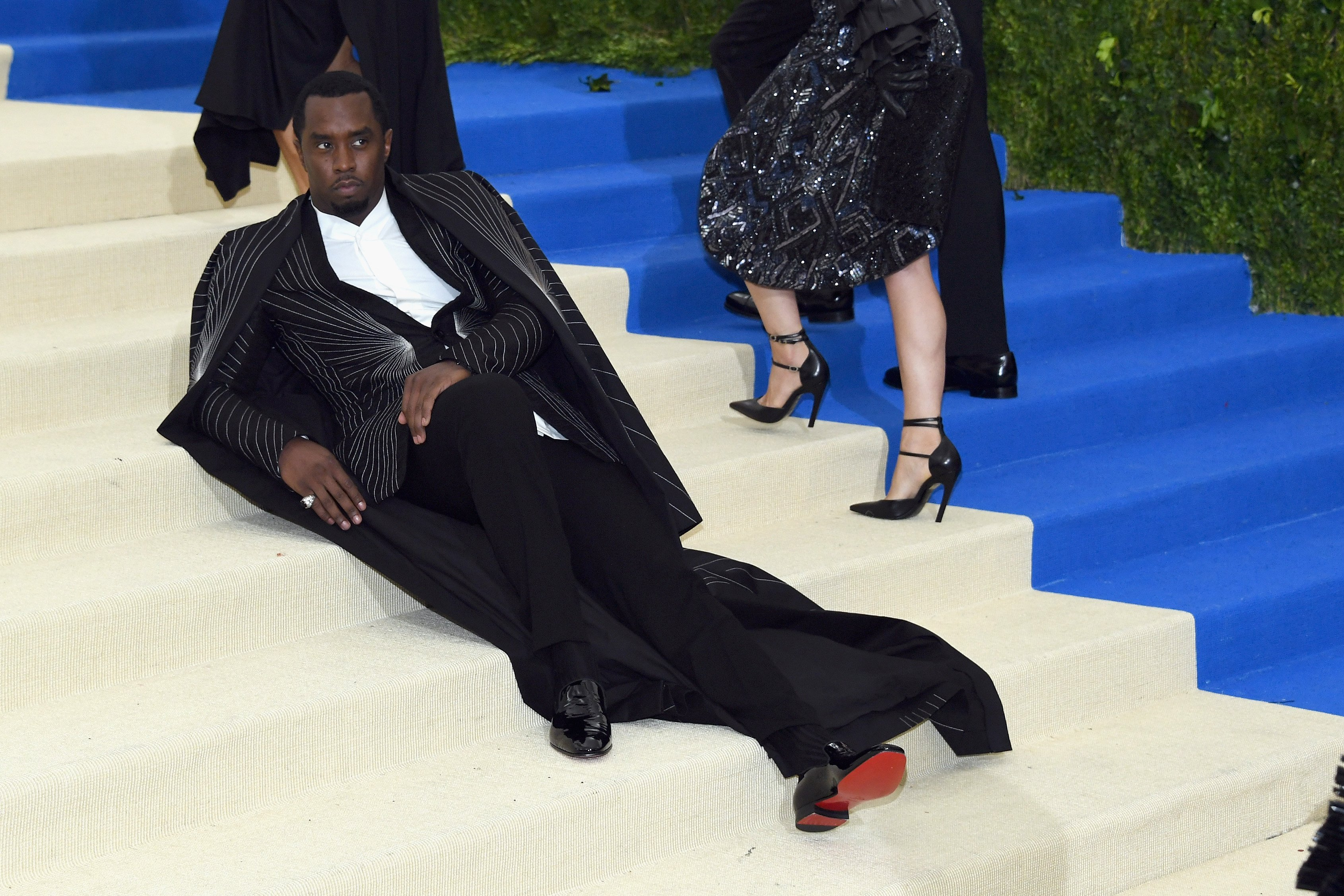 Sean 'Diddy' Combs aka Puff Daddy attends the 'Rei Kawakubo/Comme des Garcons: Art Of The In-Between' Costume Institute Gala at Metropolitan Museum of Art on May 1, 2017 in New York City