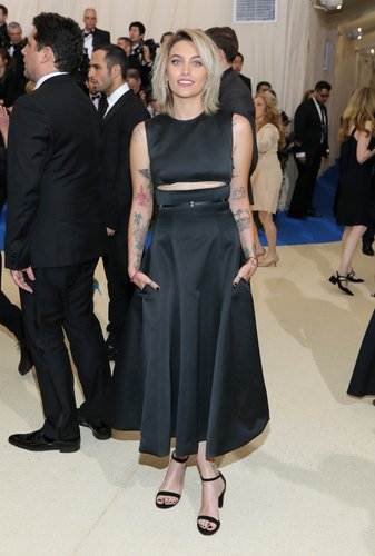 Paris Jackson attends the 'Rei Kawakubo/Comme des Garcons: Art Of The In-Between' Costume Institute Gala at Metropolitan Museum of Art on May 1, 2017 in New York City