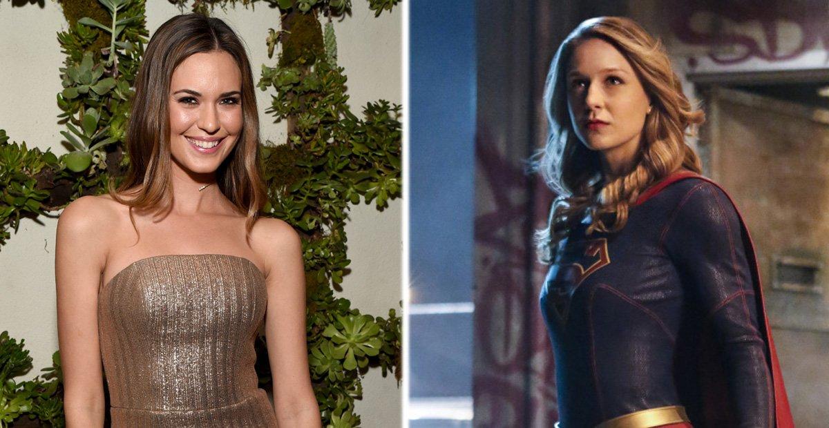 Odette Annable, Melissa Benoist as Supergirl
