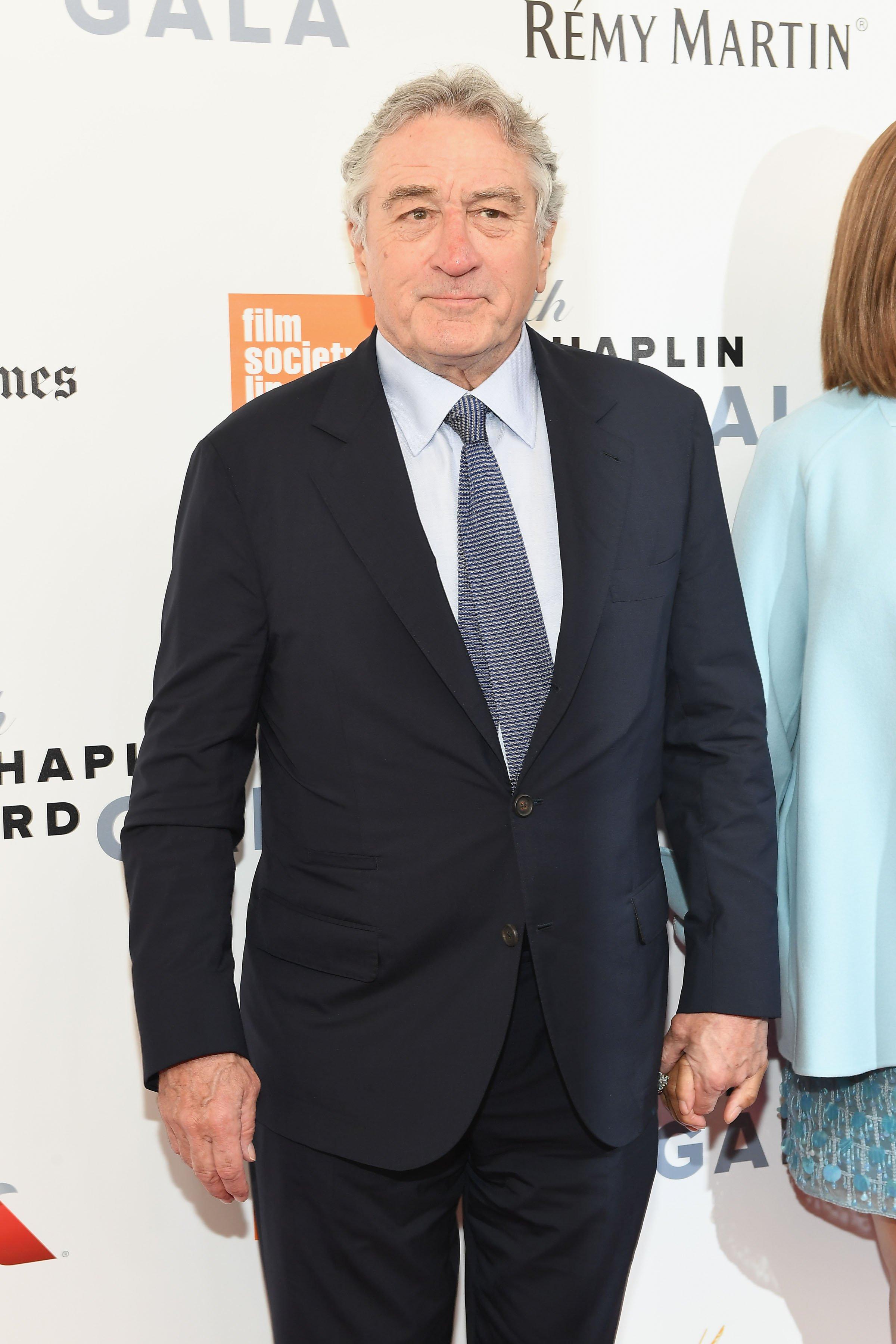 Robert De Niro attends the 44th Chaplin Award Gala at David H. Koch Theater at Lincoln Center on May 8, 2017 in New York City