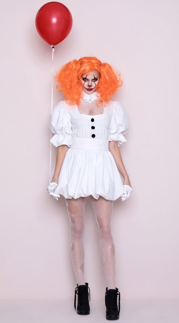 """Well, things are about to become even more sexually confusing, because Yandy has come out with its own """"sexy"""" Pennywise costume. Are you ready for this?"""