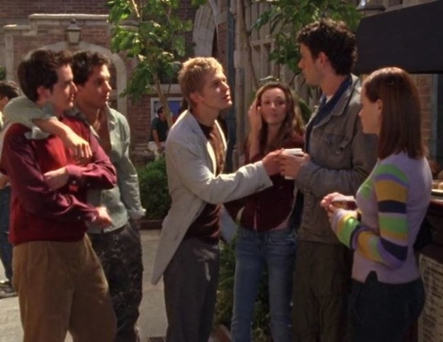 They literally met through Logan bullying Rory's friend.