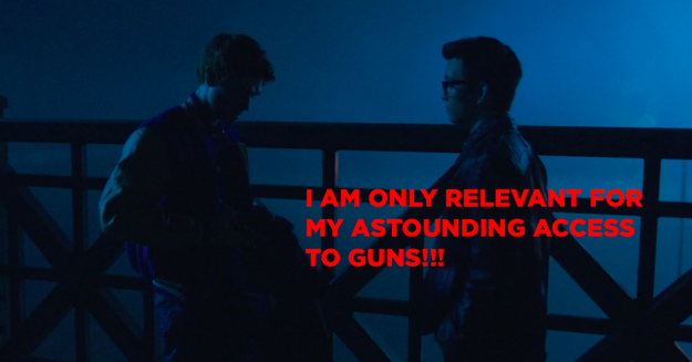 Archie's got a gun: