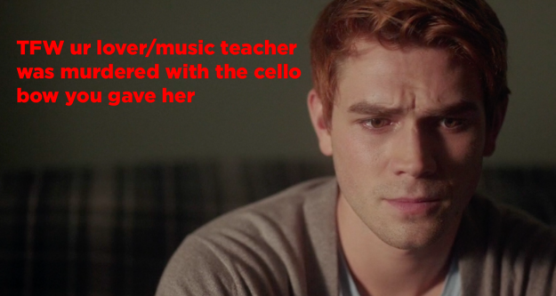 Archie found out how Miss Grundy died: