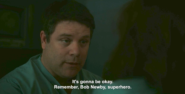 Then Episode 8 rolled around, and Bob Newby, superhero, really and truly saved the day.
