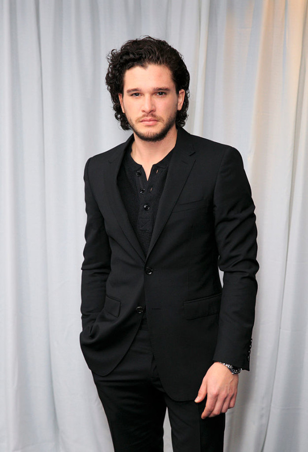 So, Kit Harington is cute as hell.