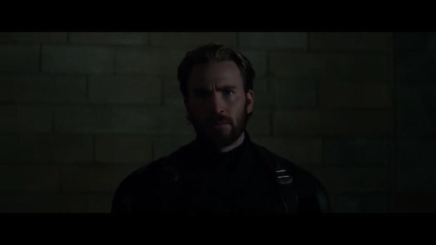 But the most important appearance of the entire trailer is Captain America's beard.