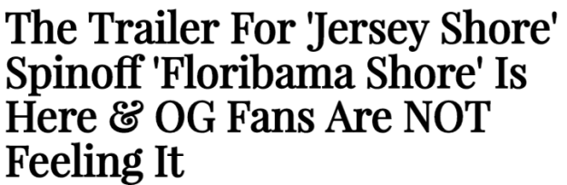 JWoww also chimed in, posting an article on her own website with the headline: