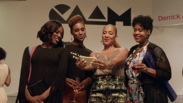 Issa and the women from Insecure