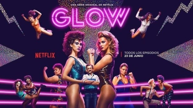 The women from GLOW