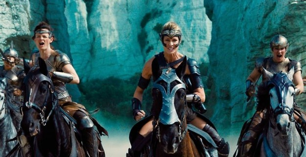 The Amazons from Wonder Woman