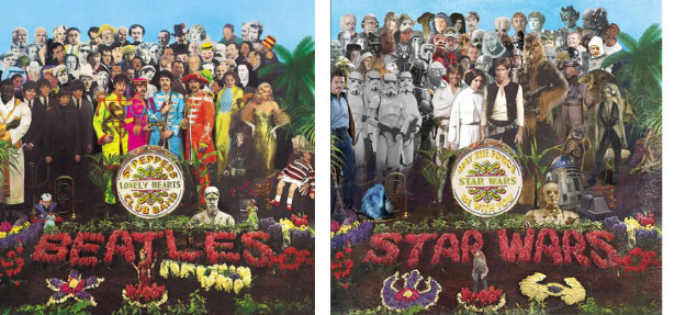 """""""Some have even taken weeks such as the Sergeant Pepper's Lonely Hearts Club Band ones I have done. The idea is always the hardest part."""""""