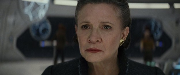 Clearly Leia uses Jedi powers to survive the attack on the Raddus, but how does she know how to use the Force in that way?