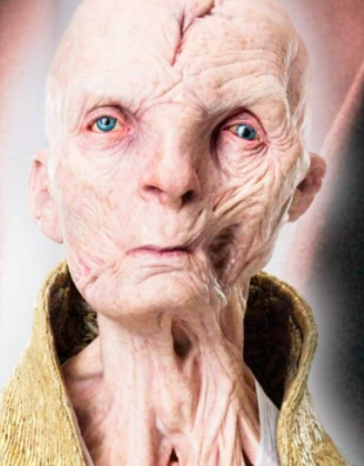 Here's a list of everything Snoke looked liked in The Last Jedi...