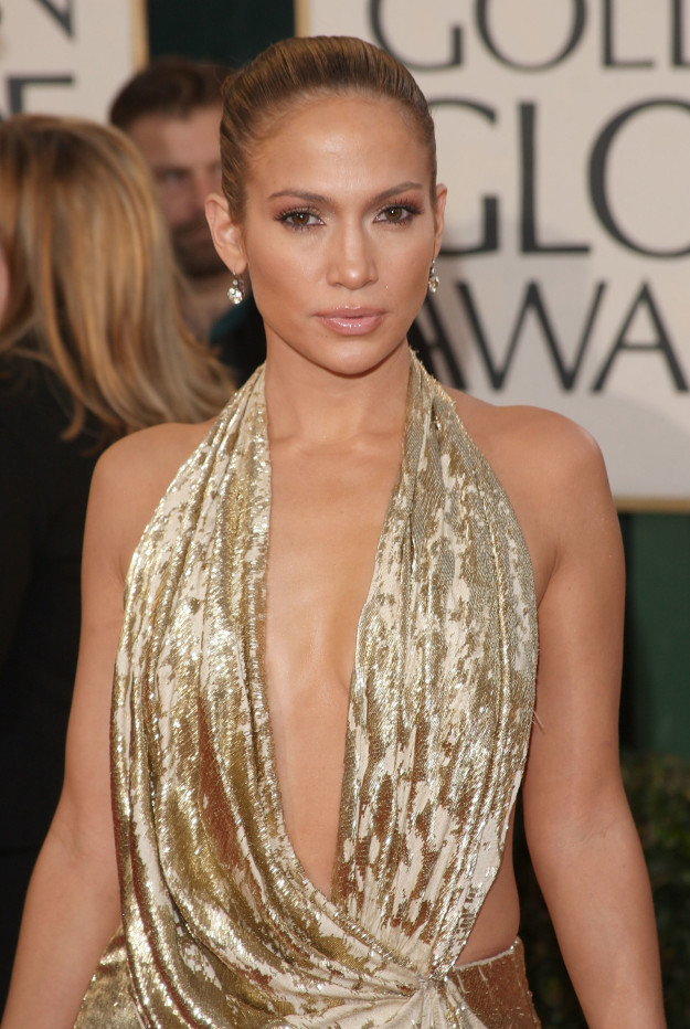 Jennifer Lopez at the 2009 Golden Globes:
