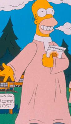Homer Simpson: