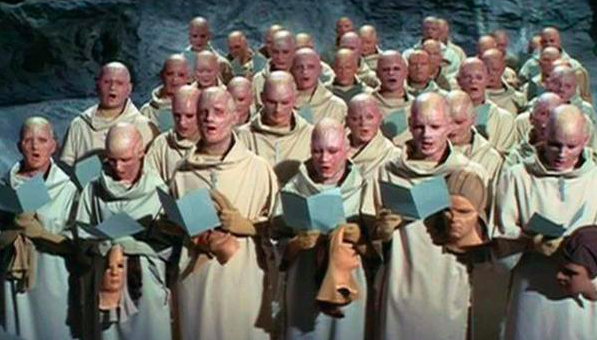 These guys from Beneath the Planet of the Apes: