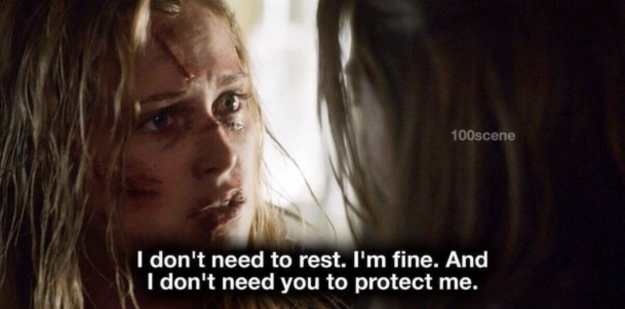 Clarke Griffin from The 100