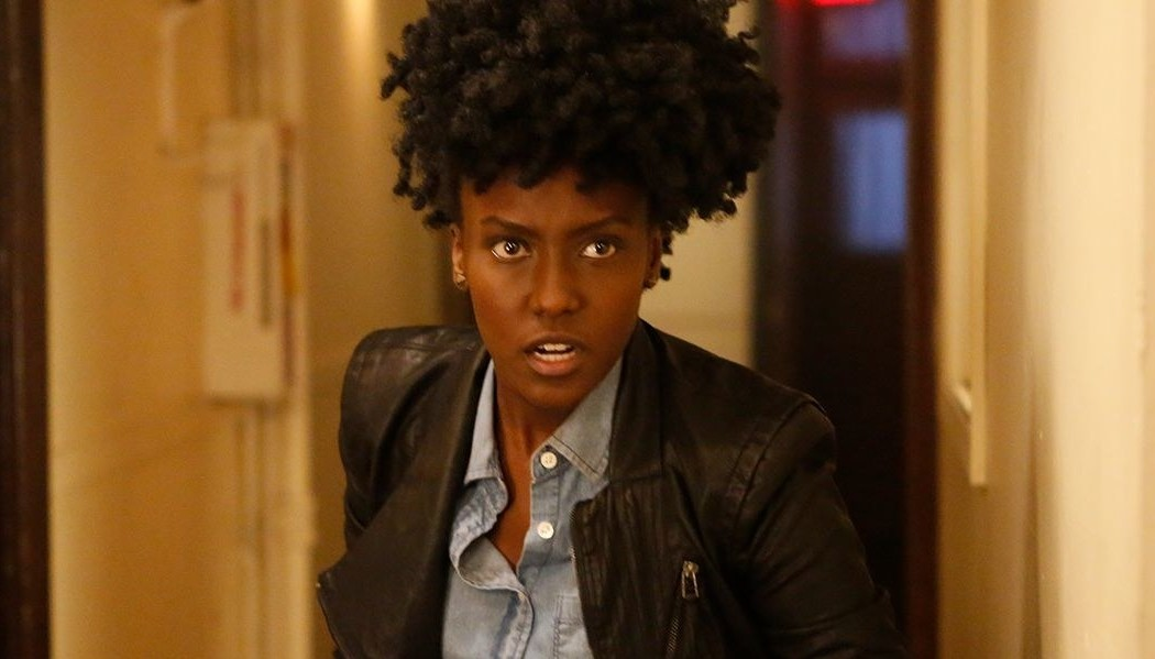 Farah Black from Dirk Gently's Holistic Detective Agency