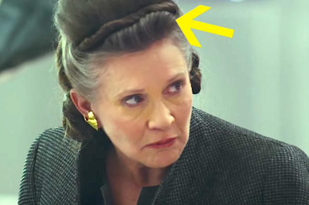 Leia's hairstyle is called an