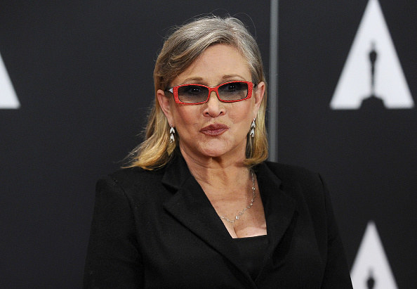 A little over a year after her death, Carrie Fisher was posthumously awarded a Grammy on Sunday.