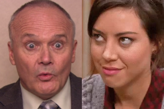 April and Creed would become instant BFFs.