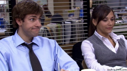...But Jim would be so freaked out by how much Ann looks like his ex-girlfriend, Karen.