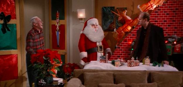 His love for Christmas decor:
