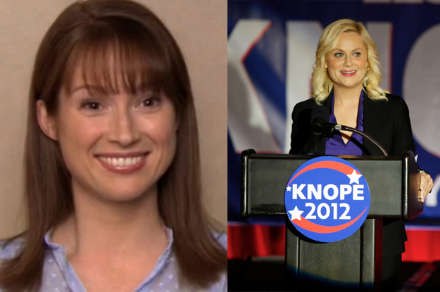 Erin would think that Leslie was cool as hell, and she'd become inspired to get into Scranton politics.