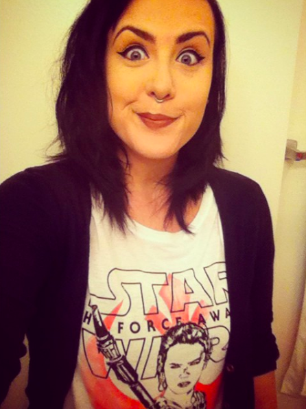 Hi, I'm Allie, and I'm a massive Star Wars fan.