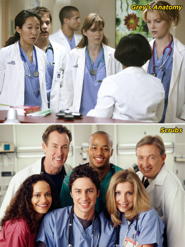 There's always a group of BFFs that are trying to defy the odds and become the best doctors at the hospital.