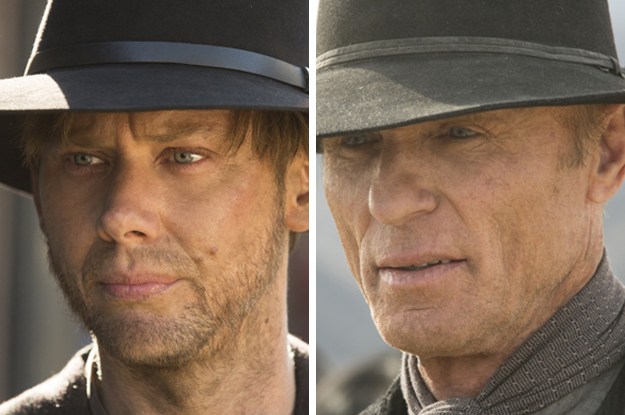 The Man in Black (Ed Harris) turned out to be an older version of William (Jimmi Simpson).