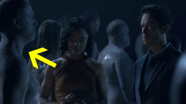And we saw her attempting to steal the entire Westworld park's code/data using the host body of Peter Abernathy (Delores' original dad).