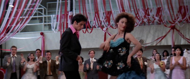 Except, once a fuckboy, always a fuckboy — Danny ruins a perfectly nice dance because he is physically incapable of resisting Cha Cha...