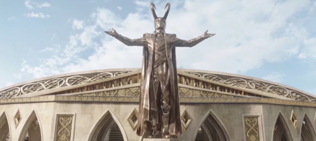 Which would be fine except the real world time between MCU movies is roughly in sync with the make believe time that passes in-universe, which means Loki spends FOUR YEARS pretending to be Odin.