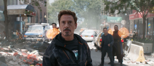 Oh my god, I'm just realizing this as I'm writing this, The Avengers' fight with Ultron inspires The Sokovia Accords, which is what divides the team in Captain America: Civil War, which is why when Thanos' Black Order goons show up on Earth in Infinity War, they aren't ready for him.