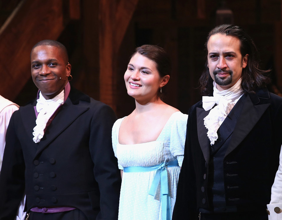 "The song's title came about because it was one of Miranda's first drafts of ""Burn"" from the Hamilton musical — a song that was first sung by Phillipa Soo, who originated the role of Eliza Hamilton."