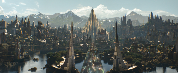Alright, so in the Marvel Cinematic Universe, Asgard is sort of like the closest thing there is to a galactic governing body.