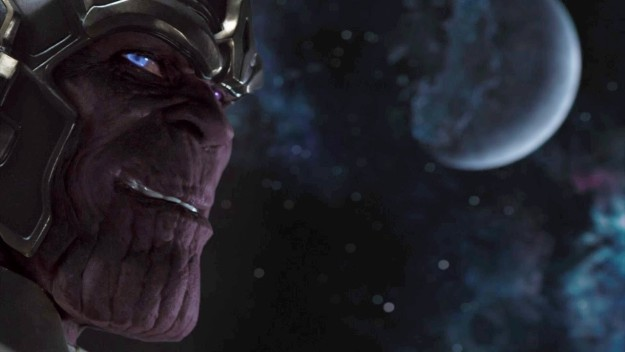 After the Battle of New York, Thanos has now realized that the Earth isn't going to be an easy planet to conquer, so he's got to really step up his game if he wants to take on The Avengers.
