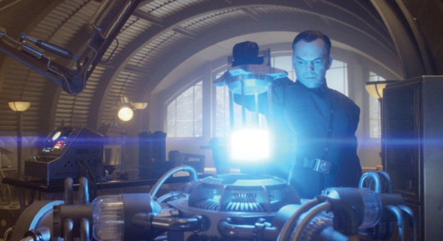 The Tesseract with the Space Stone, if you'll recall from Captain America: The First Avenger, has been in S.H.I.E.L.D.'s custody ever since they took it from HYDRA way back in World War II.