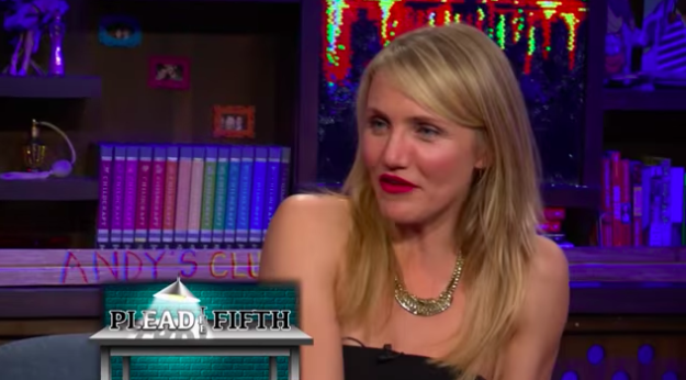 Cameron Diaz confirmed that she's had some same-sex experiences.