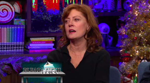 Susan Sarandon said she gets stoned before almost every single Hollywood event — except the Academy Awards.