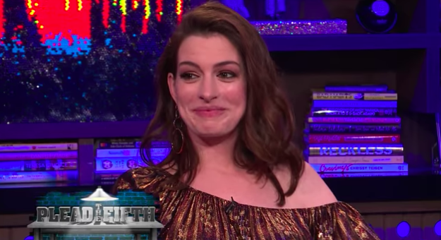 Anna Hathaway admitted that she's definitely a stoner.